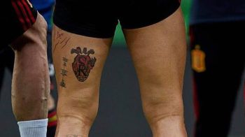 Sergio Ramos nu putea sa rateze momentul! Ce tatuaj INCREDIBIL si-a facut in timpul Cupei Mondiale! FOTO