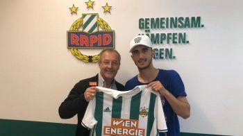 """OFICIAL! Andrei Ivan a fost prezentat la Rapid Viena si a ales un numar surprinzator: """"Sper sa revin la echipa nationala dupa acest transfer!"""""""