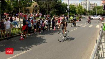 Pe ei nu-i intereseaza Mondialul! 500 de oameni s-au intrecut la Triatlonul de la Bucuresti