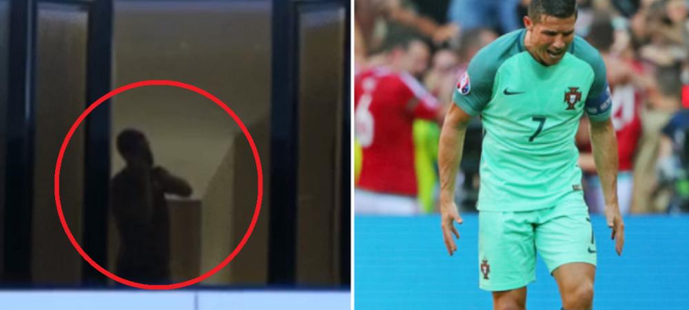 Sute de iranieni s-au dus in miez de noapte sa cante in fata hotelului lui Ronaldo! Reactia fabuloasa a portughezului: VIDEO