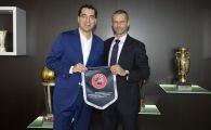 Razvan Burleanu a fost numit prim-vicepresedinte al Comisiei de Marketing UEFA