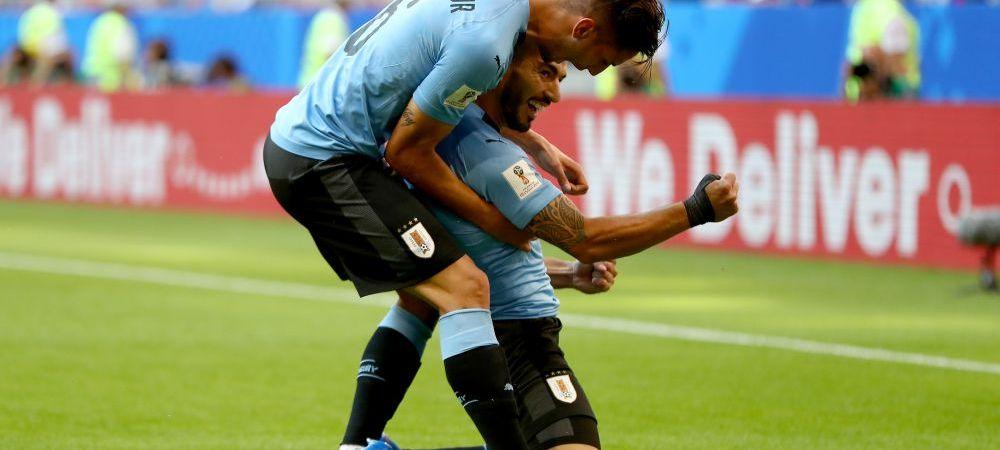 URUGUAY 3-0 RUSIA, CM 2018 | Suarez si Cavani lovesc, Cheryshev isi da si el autogol, iar Uruguayul castiga grupa A. Rusii, la pamant dupa doua meciuri bune