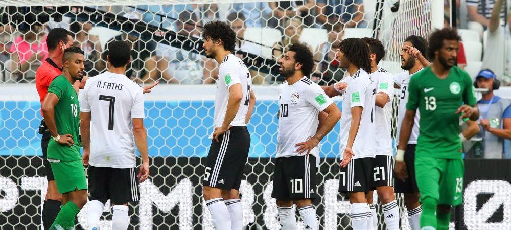 ARABIA SAUDITA 2-1 EGIPT, CM 2018 | Salah pleaca acasa cu 2 goluri si ultimul loc in grupa A! Arabia Saudita a dat lovitura la ultima faza a meciului