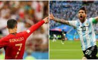 Se stiu primele 4 partide din optimile Cupei Mondiale! Cristiano Ronaldo si Leo Messi se pot intalni in sferturi! Programul meciurilor