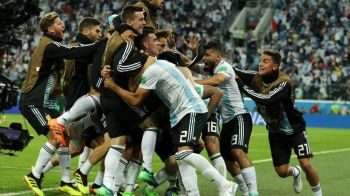 NIGERIA 1-2 ARGENTINA CUPA MONDIALA 2018 | LACRIMI de bucurie pentru Argentina lui Messi! Fundasul Rojo salveaza calificarea in minutul 87! Franta, adversara din optimi