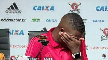 "A inceput sa PLANGA la ultima conferinta inainte de transferul la Real Madrid: ""Vreau sa fiu ca Ronaldo si Ronaldinho!"""