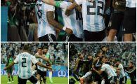 Rojo l-a carat pe Messi in optimile Mondialului! LA PROPRIU! Imagini incredibile dupa reusita din minutul 87! Maradona a innebunit in tribuna: a aratat degetul mijlociu