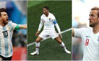 Golgheteri CM 2018 | Messi a dat primul sau gol la Mondial, Ronaldo are patru reusite, iar Urganul Kane e lider. Cum arata topul