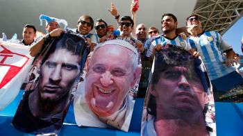 "Seara in care Dumnezeu a fost argentinian. Messi: ""Nu putea sa ne lase acum"". Ce raspuns a dat Papa Francisc atunci cand a fost pus sa aleaga intre Messi si Maradona"