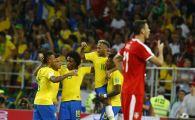 SERBIA 0-2 BRAZILIA CUPA MONDIALA 2018 | Calificare fara emotii dupa golurile lui Paulinho si Silva, Brazilia va intalni Mexic in optimi