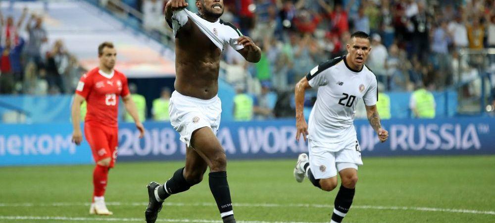 ELVETIA 2-2 COSTA RICA, CUPA MONDIALA 2018 | Elvetienii merg in optimi, acolo unde vor intalni Suedia