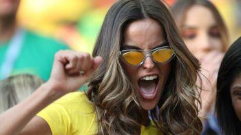 FEMEIA care a atras toate privirile inainte de Serbia - Brazilia! Este model Victoria's Secret si are iubit celebru! FOTO