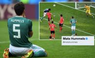Singurul jucator german care a mai avut puterea sa le transmita un mesaj fanilor! Un singur cuvant a spus Hummels dupa rusinea de la Mondial