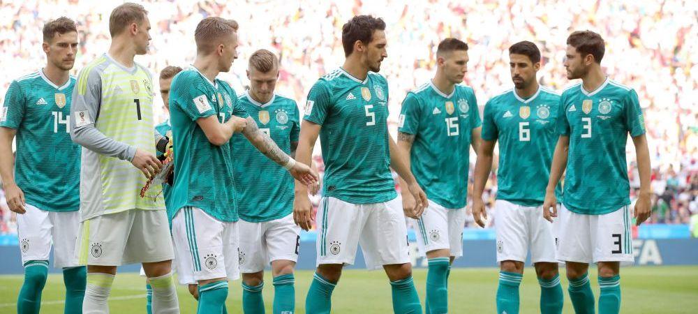 Ce s-a intamplat in vestiarul Germaniei dupa DRAMA cu Coreea de Sud! Mesajul sefilor pentru Joachim Low