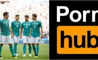Cum a ras Pornhub de nationala Germaniei dupa eliminarea de la Mondial :) Gluma care s-a viralizat imediat pe internet