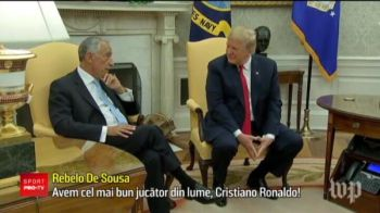 Ronaldo, presedinte in Portugalia! Propunerea vine de la Donald Trump