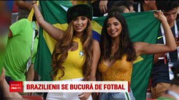 Ingerasii sexy i-au inspirat pe Neymar si Coutinho cu Serbia! Au fost in tribuna la Moscova!