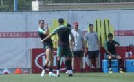 """CM 2018 // """"SIIII!"""" Cristiano Ronaldo a sutat ca Budescu din spatele portii! Cum s-a dus mingea: VIDEO"""