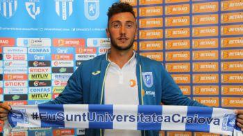 OFICIAL | Craiova si-a luat portar din Italia! Mangia a adus un conational crescut de Roma, cu peste 130 de meciuri in Serie B