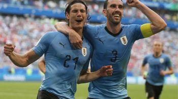 CR7 FARA UN SFERT! Ziua in care Ronaldo si Messi au fost minusculi! Uruguayul se califica in sferturile Mondialului cu dubla lui Cavani | PORTUGALIA 1-2 URUGUAY. FAZELE