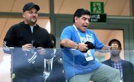 Nu s-a putut abtine! Maradona a mers la Franta - Argentina, dupa ce la meciul precedent i s-a facut rau! Cum s-a bucurat la gol