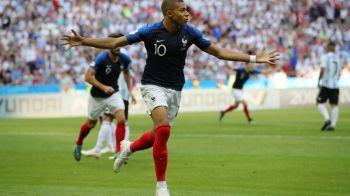 """Cuvinte mari pentru eroul confruntarii Franta - Argentina! """"Imi aminteste atat de mult de brazilianul Ronaldo"""""""