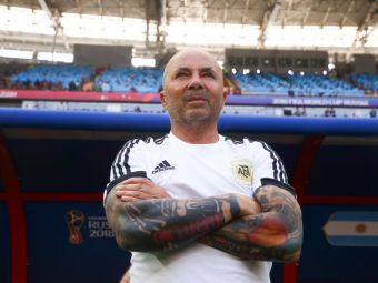 Anuntul facut de Jorge Sampaoli dupa eliminarea Argentinei de la Mondial! Ce hotarare a luat