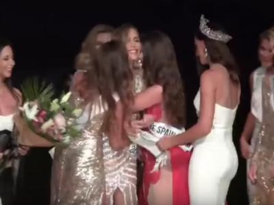 Premiera! Trofeul Miss Spania a fost castigat de un transexual din Sevilla! Cum arata