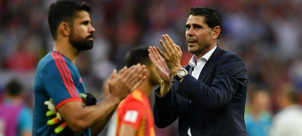 """REACTIA lui Hierro dupa ce Spania a parasit Mondialul! """"Nu am niciun repros!"""""""
