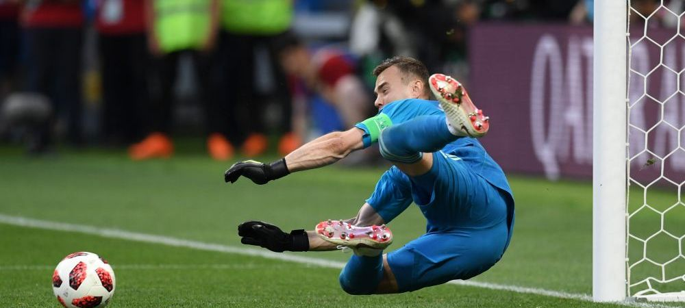 """Reactia eroului Rusiei dupa ce i-a aparat doua penaltyuri Spaniei! Rusii au innebunit pe internet: """"Il punem Ministru al Apararii"""""""