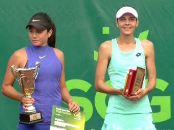 Andreea Mitu a pierdut finala de la ITF Curtea de Arges in fata lui Miriam Bulgaru
