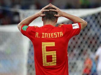 Adios, Don Andres! Iniesta si-a anuntat oficial retragerea de la nationala cu un mesaj emotionant transmis la finalul meciului cu Rusia. Ce a spus