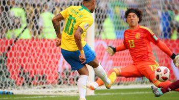 BRAZILIA - MEXIC 2-0 CUPA MONDIALA 2018   Neymar si Firmino duc Brazilia in sferturi! Goluri marcate dupa faze trase la indigo