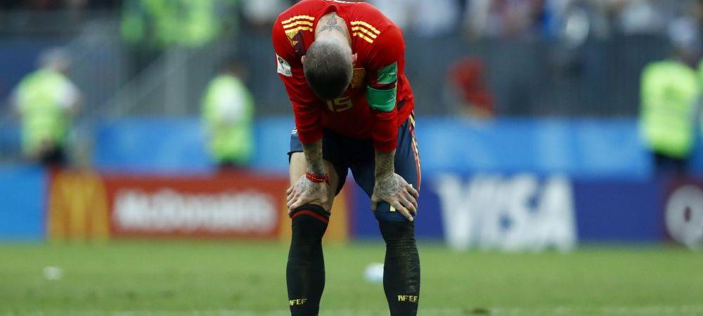 "Sergio Ramos nu s-a putut abtine si a injurat in direct: ""F***, e greu!"" Ce spune despre RETRAGEREA de la echipa nationala"