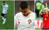 OPINIE / No World Cup for old footballers! Am asistat la probabil ultimul Mondial pentru Messi, Ronaldo si Iniesta