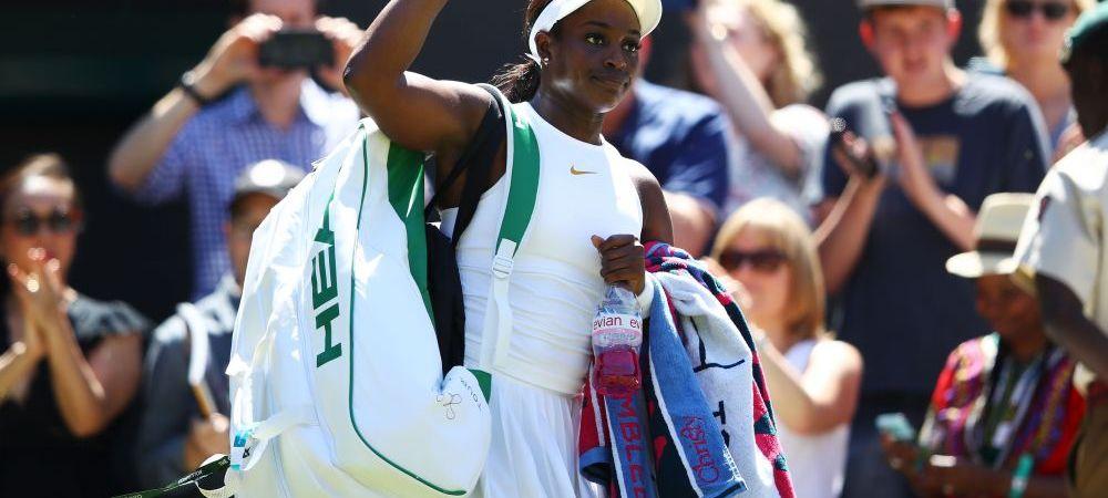 SURPRIZA URIASA! Sloane Stephens ELIMINATAin primul tur la Wimbledon!