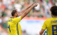 """Capitanul Suediei, mesaj cu bataie la Ibrahimovic: """"Am progresat si fara el"""". Ce spune singurul jucator care i-a furat lui Zlatan titlul de """"cel mai bun suedez"""" in ultimul deceniu"""