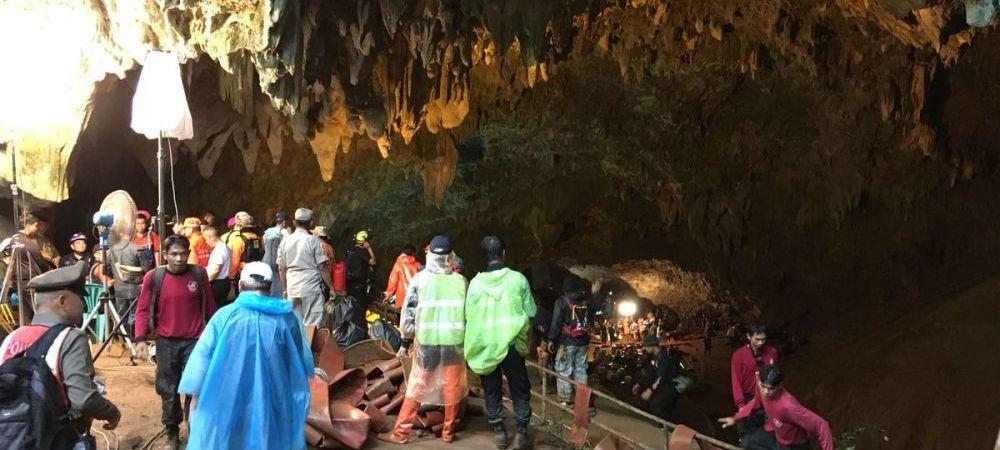 MIRACOL in Thailanda! O echipa de juniori a supravietuit 9 ZILE intr-o pestera! Jucatorii au fost blocati din cauza inundatiilor