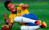 Cea mai penibila simulare de la Mondial: Neymar e tinta ironiilor pe net! Ce a putut sa faca