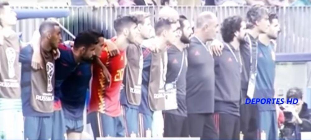 """Ti-am zis eu!"" Diego Costa a izbucnit cand a aflat pe cine trimite Hierro sa bata penalty cu Rusia! Imaginile care nu s-au vazut la TV"