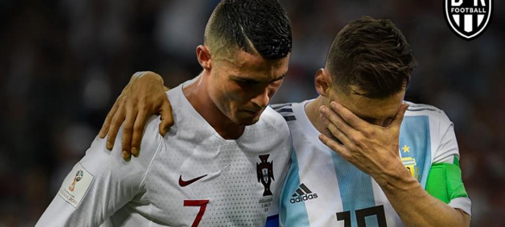 Razboiul dintre Messi si Cristiano Ronaldo a provocat un DIVORT! Ce s-a intamplat dupa un meci de la Mondial