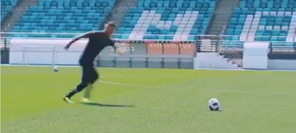 Beckham a fost provocat de Zidane sa nimereasca bara de dupa jumatatea terenului! Ce s-a intamplat