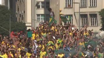 Brazilia, FAVORITA la pariuri sa castige Cupa Mondiala 2018! Cum au reactionat brazilienii la victoria cu Mexic. VIDEO