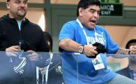 """Maradona vrea sa se intoarca pe banca Argentinei dupa dezastrul de la Mondial: """"As face-o pe gratis! Inima mea e grea!"""""""