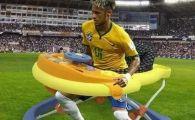"""Neymar le-a raspuns """"haterilor"""". Mesajul brazilianului, dupa ce a fost facut praf pentru simularile sale"""