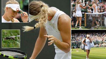 """Wozniacki a RABUFNIT dupa eliminarea de la Wimbledon 2018: """"Suntem aici sa jucam tenis, nu sa MANCAM insecte!"""""""