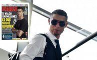 """""""DOAR 100 de milioane?"""" Reactia INCREDIBILA a lui Ronaldo cand a auzit cat cere Real Madrid pentru transfer!"""