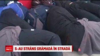 S-au strans gramada...in strada! Scandal la rugby: motivul pentru care jucatorii nationalei din Zimbabwe au dormit pe trotuar