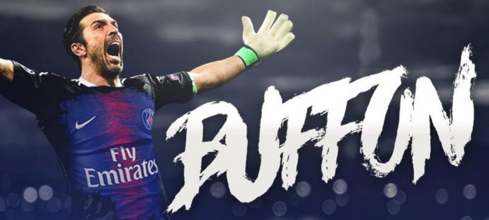 S-a facut si transferul lui Buffon! Legendarul portar va avea parte de o prezentare grandioasa LUNI