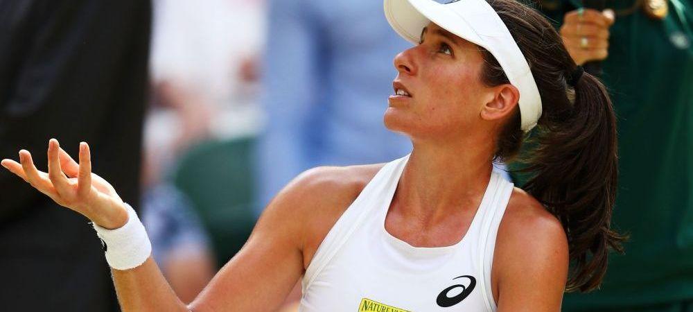 Konta, deranjata de Cibulkova in meciul pierdut la Wimbledon! De ce tertip s-a folosit slovaca pentru a-si enerva adversara